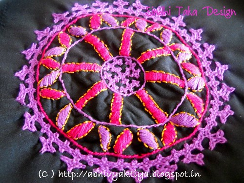 embroidery pattern for sindhi taka