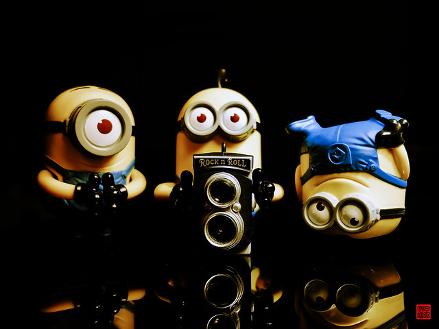 Rock & Roll Minions  Cute minions :)  By: Daniel Y. Go  Flickr ...