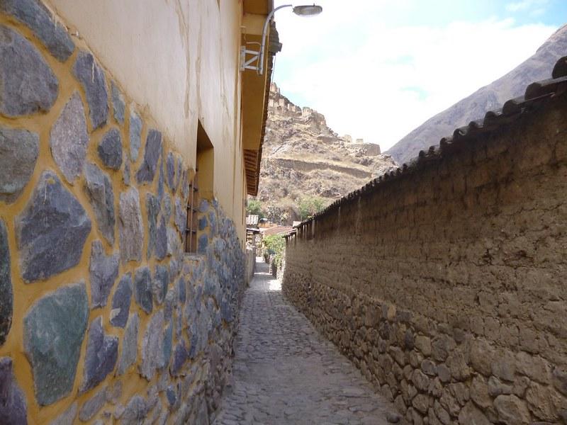 Narrow lanes of Ollantaytambo