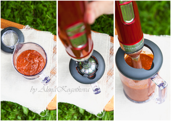 Preparing Tomato Sauce