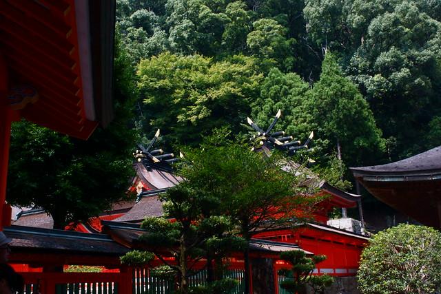 Kumano Nachi grand shrine (Japan), Aug 2013