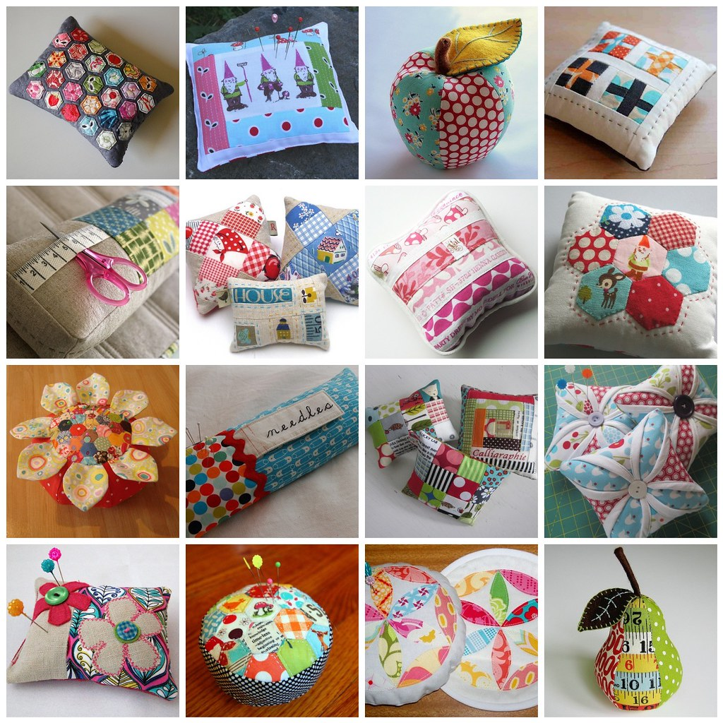 Pincushion favourite mosaic