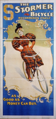 Stormer Bicycle Poster