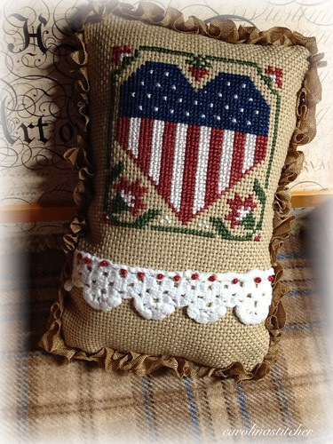 Carolina stitcher finishes