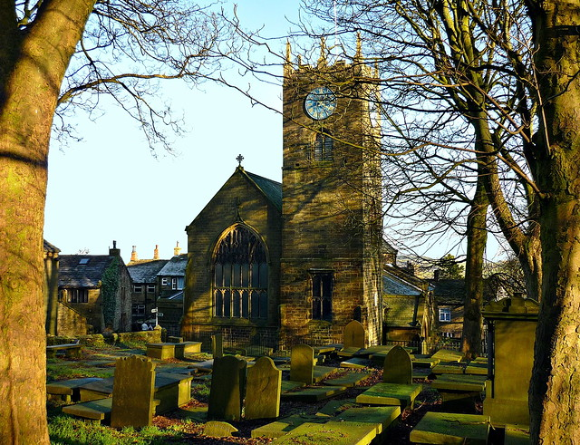 St Michael and All Angels Church, Haworth, West Yorkshire