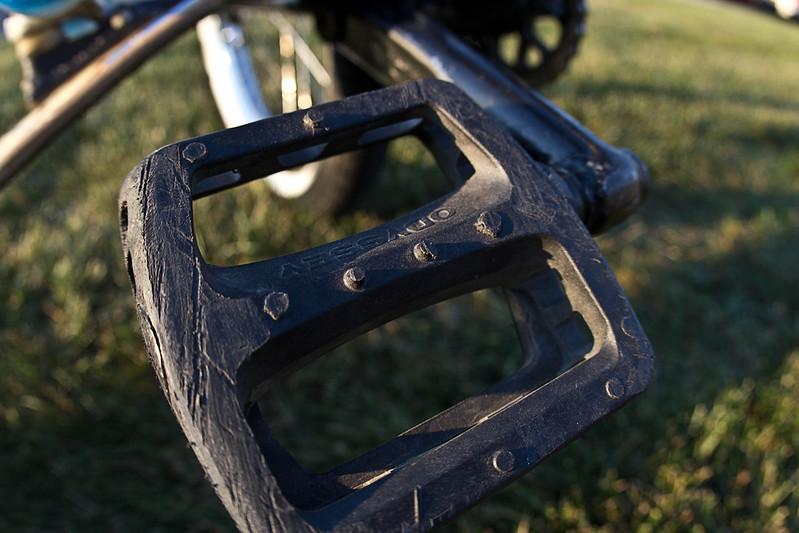 Pedal slides