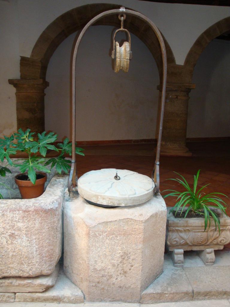 5. Pozo en el patio de la Alhóndiga. Autor, Zubitarra