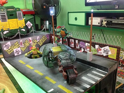 tmnt custom playset by rheiner perez 3