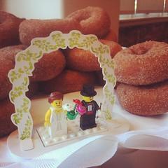 Wedding apple cider donuts!