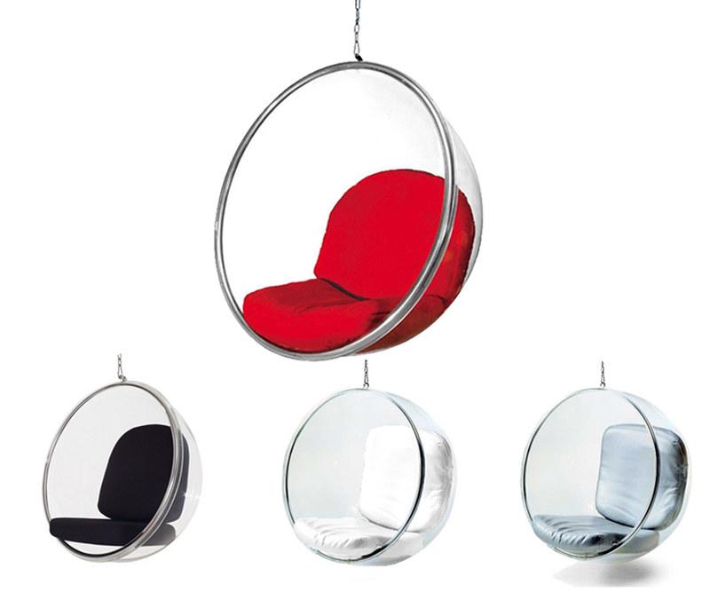 Fauteuil boule suspendu bubble chair design neuf - Fauteuil bubble chair ...