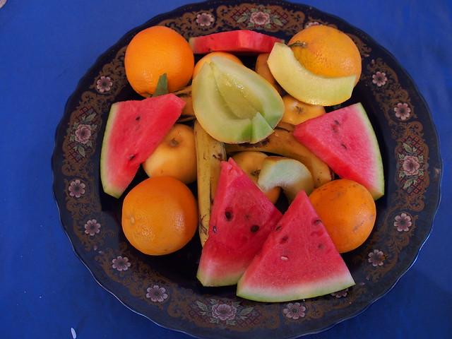 今日午餐-水果拼盤