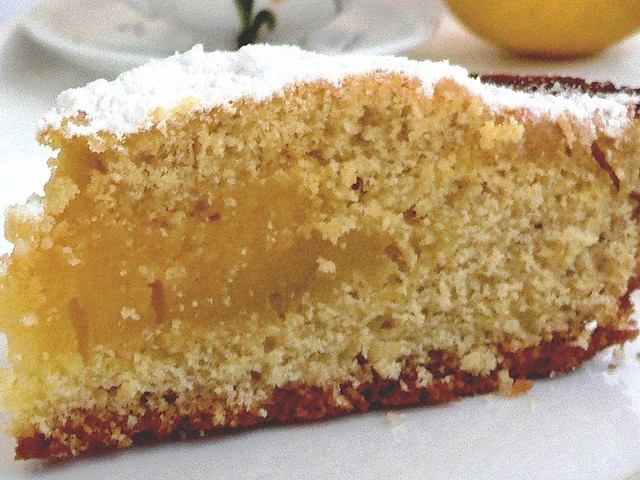 Torta con crema al limone un dolce da pasticceria da for Siti ricette dolci