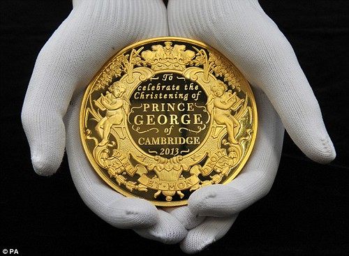 Prince George gold coin