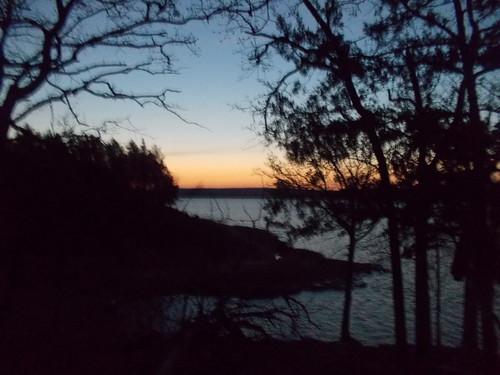 water sunrise landscape scenery hiking backpacking natureshots appalachiabay