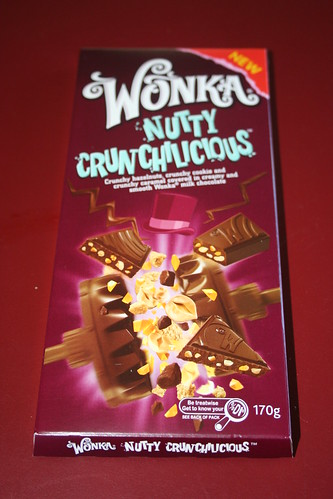 2013-09-02 - Junk food - Wonka Nutty Crunchalicious - Package