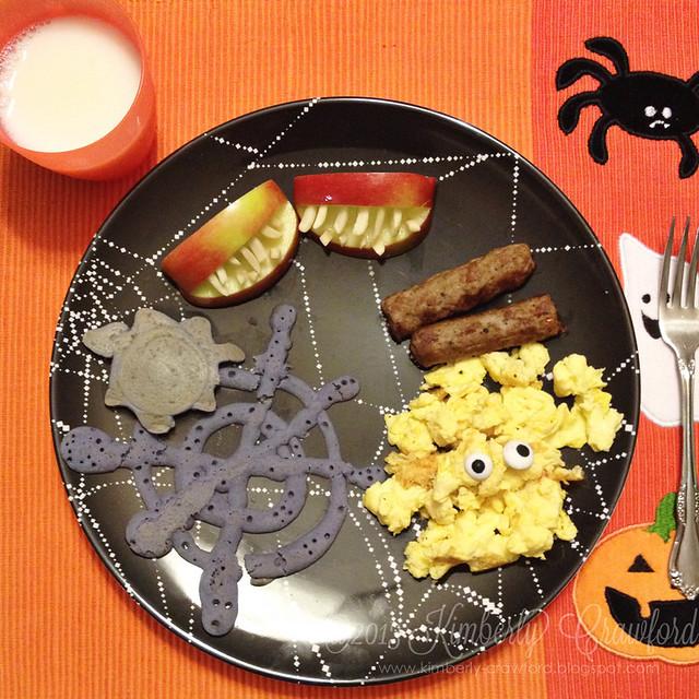 spooky breakfast