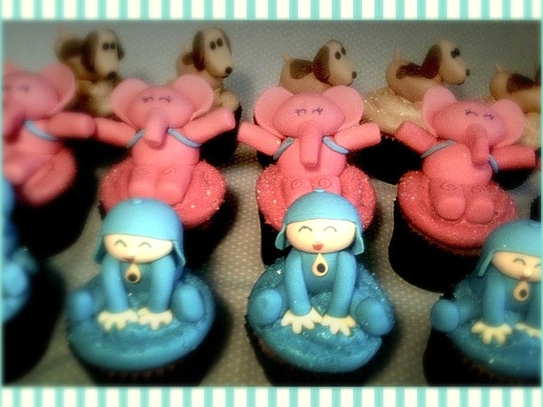 Cupcakes Pocoyó