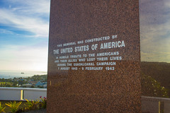Guadalcanal American Memorial - A tribute to those Americans and their allies who participated in the Guadalcanal campaign from 7 August 1942 to 9 February 1943