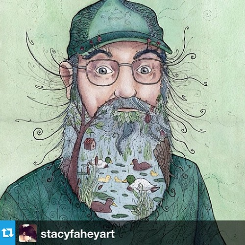 #Repost from @stacyfaheyart with @repostapp - love this #duckdynasty