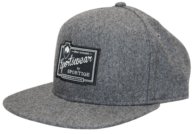 Sportiqe Rugged Brushed Wool Hat
