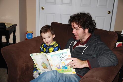 Casey Visits- December 2013