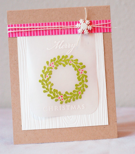 Wreath_pinkgreen_Merry Christmas_2013_03
