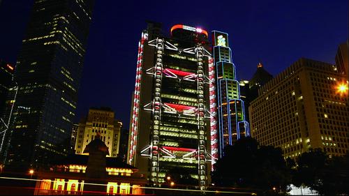 映画『フォスター卿の建築術』香港上海銀行