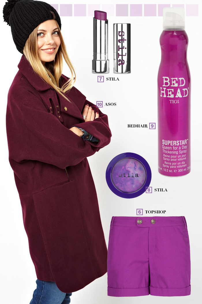 trend report barbara crespo trends tendencias radiant orchid color purple fashion blogger