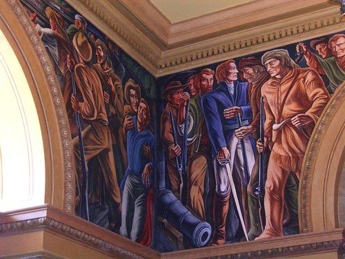 San Antonio, TX post office interior mural (by: Jimmy Emerson, creative commons)