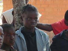 Zambia. Aldea entre Kasama y Mporokoso. Mirada muy expresiva