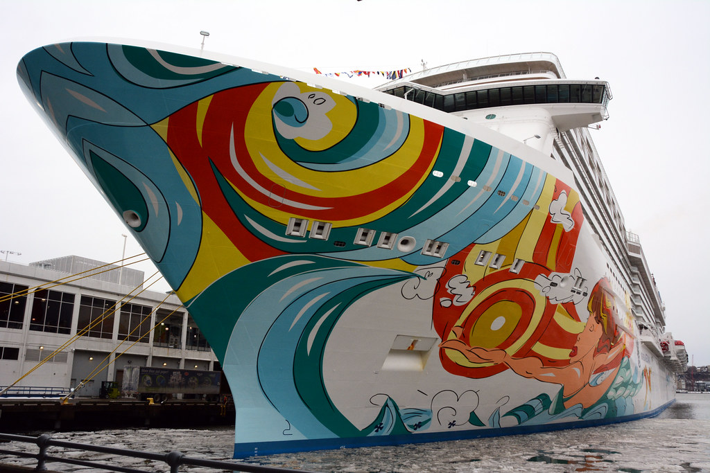 Picture Of The Norwegian Getaway On Its Maiden Voyage To N