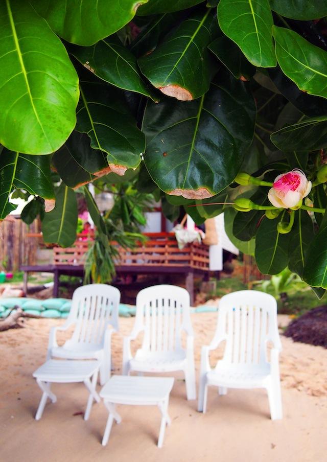 Corong-Corong beach El Nido Las Cabanas loungers