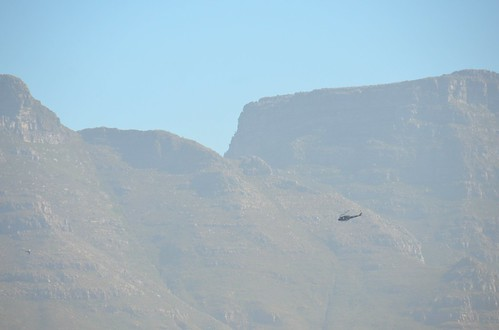 Table Mountain & Helicopter.