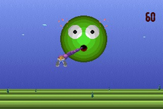 Sprite Whips in Invasion of the Blobs II: The Evolution Revolution (Mike Perrucci, 1998)