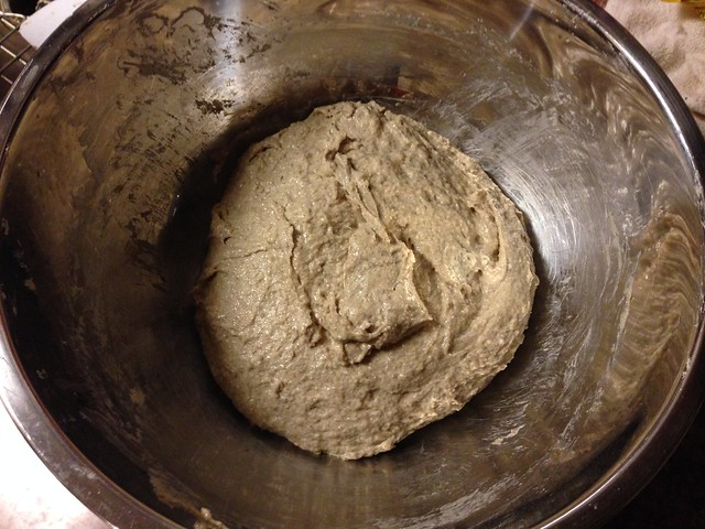 Sourdough Rye Bread dough