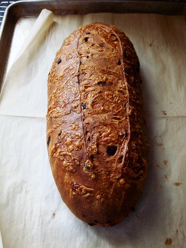 Sundried Tomato Olive Loaf: Fresh Out Of Oven