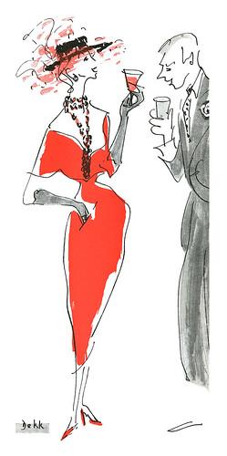 1950 illustration by Dorrit Dekk
