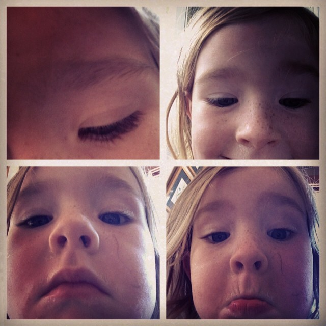 Tiny selfies #hilariousowlet #phonethief #loveher