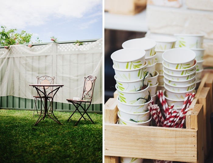 Backyard Wedding - decor