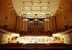 Suntory hall (before rehearsal)