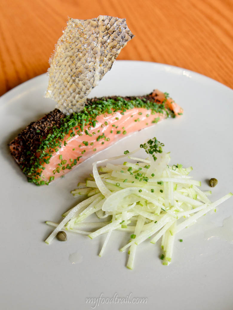 Confit Salmon, Saveur, Singapore