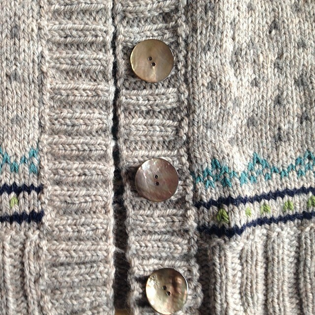 Found the buttons for my sweater!