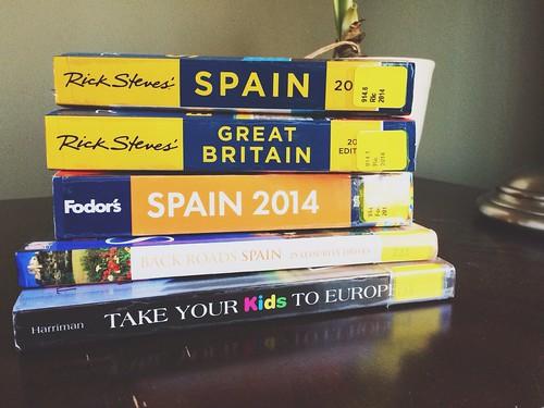 Guide Books Spain