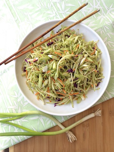 Japanese Sesame Slaw via MealMakeoverMoms.com/kitchen