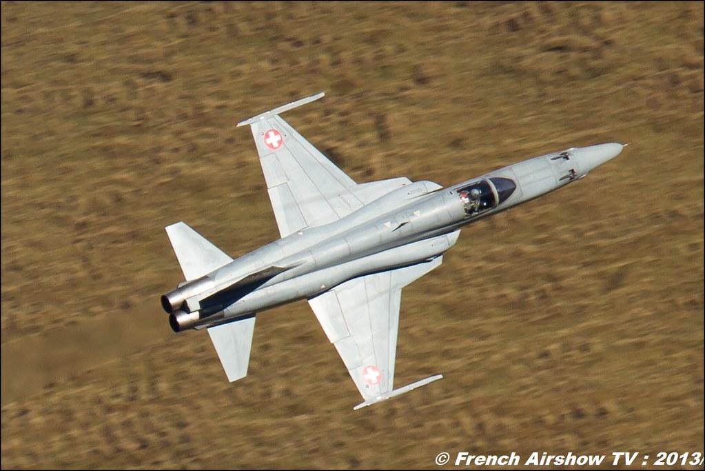 F-5 TigerII Exercices de tir d'aviation Axalp 2013
