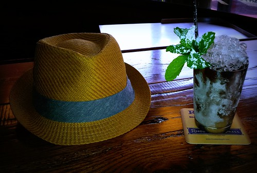 Mint Julep & Hat