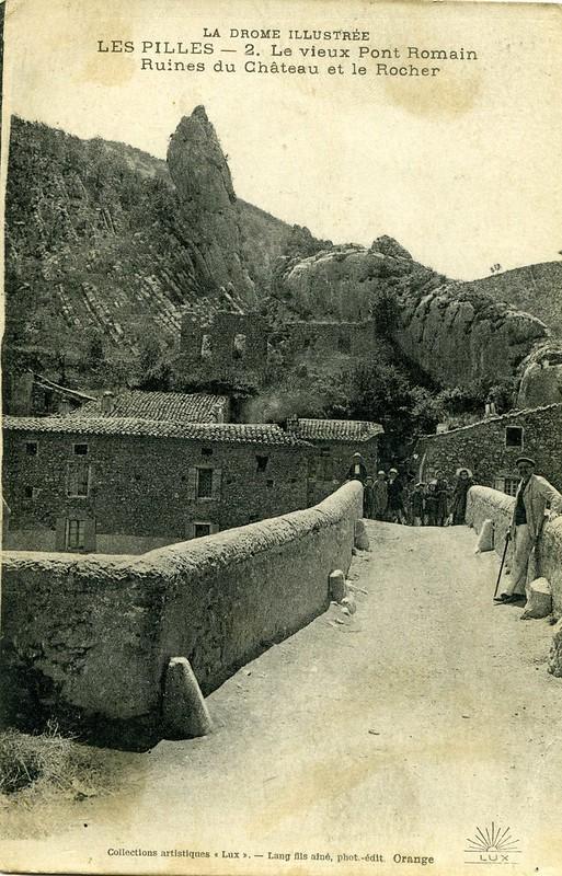 Le pont roman et le château