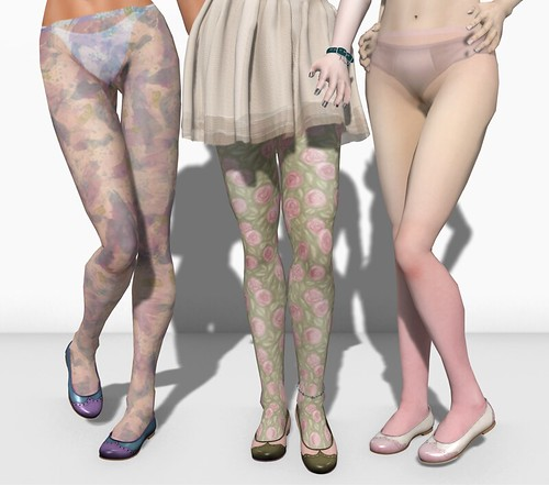 watercolor tights