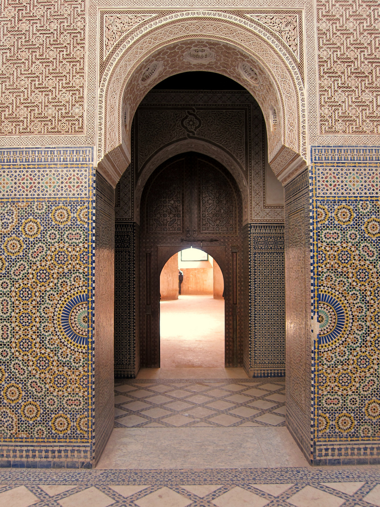At the Taourirt Kasbah, photo: Bex Walton, CC BY-NC-ND 2.0