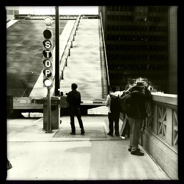 Chicago River Bridge Raising.